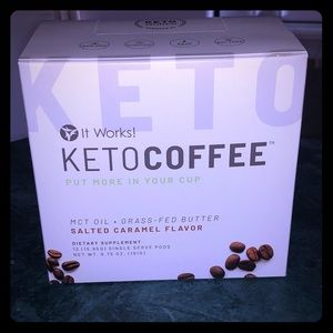 BNIB KETO COFFEE FROM IT WORKS